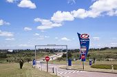 Entrance To Fuel Stop Between Durban And Pietermaritzburg