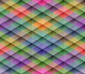 pic of rhombus  - Abstract colorful mosaic seamless vector background - JPG