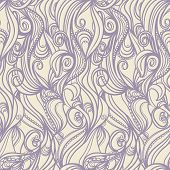 Floral Purple Pattern
