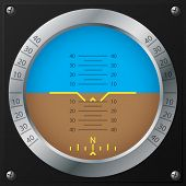 Airplane Attitude Indicator Design