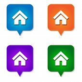 Home Icon 4 Options
