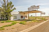 Former Route 66 Service Station