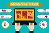 Technology Infographic Element