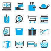 shopping, e commerce icons