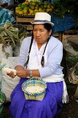 Ecuador, Food Market
