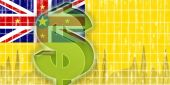 Flag Of Niue Finance Economy