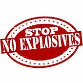 Stop No Explosives