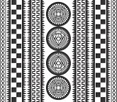 native art pattern