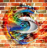 Magic eye illustration