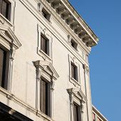picture of ferrara  - View of an Architecture of renaissance in Ferrara - JPG