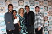 LOS ANGELES - JUL 20:  Sleepy Hollow Cast and Producers:  Tom Mison, Nicole Beharie, Heather Kadin,