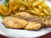 Piri-piri Chicken.