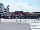Center-field Gate and Parking structure for Nationals' Ballpark