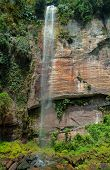 Waterfall In The Harau Valley.