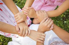 stock photo of  friends forever  - Friends forever  - JPG