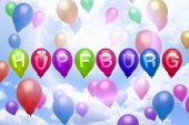 Balloon Colorful Balloonsgerman - Bouncy Castle -