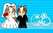 horse married cartoon background