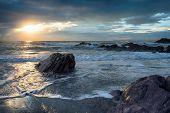 Sharrow Beach In Cornwall