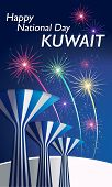 Happy National Day Celebration Kuwait