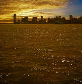 Jersey City On Sunset.