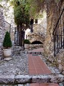 Street In Eze Village, France