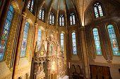 Matthias Church Interior - Budapest, Hungary