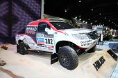 Bangkok - November 28: Toyota Hilux Car On Display At The Motor Expo 2014 On November 28, 2014 In Ba