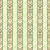 Yellow Vintage Pattern