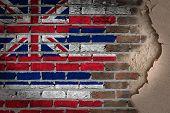 Dark Brick Wall With Plaster - Hawaii