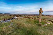 Windy Post On Dartmoor