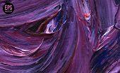 Paint Texture. Vector illustration. Violet grunge template.
