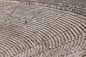pic of epidavros  - The theater at Epidaurus Archeological Site in Greece - JPG