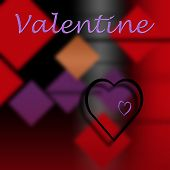 Love as a theme for Valentine's Day