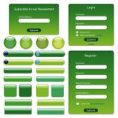 Green Web Template