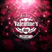 Badge for Valentine's Day