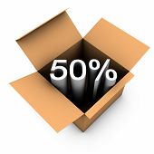 Fifty Percent Discount Sale