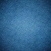 Perspective composition closeup view to abstract space of empty light blue natural clean dark denim texture for business background in cold bright colors with diagonal shift tilt lines and stitches