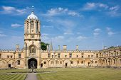 Christ Church's Tom Tower, Oxford University