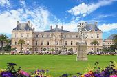 Luxembourg garden and palace