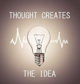 Thoughy Creates Idea