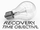 stock photo of objectives  - Recovery Time Objective  - JPG