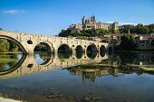 stock photo of old bridge  - B - JPG