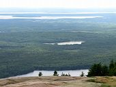 Mountain View taken at Acadia National Park in Summer
