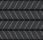 picture of ribbon  - Seamless geometric background - JPG
