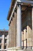 British Museum columns