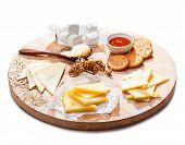 pic of cheese platter  - Cheese platter - JPG