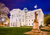 image of capitol building  - Raleigh - JPG