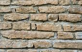 image of mortar-joint  - Stone masonry with rich and various texture - JPG