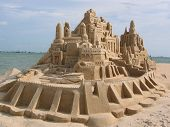 Grand Sand Castle @ Beach