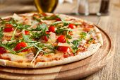 stock photo of italian food  - Italian pizza  - JPG